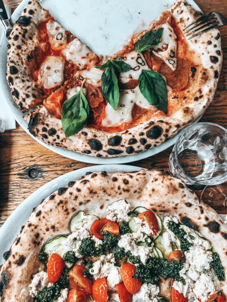 pizza vegan plant-based la stella nera berlin